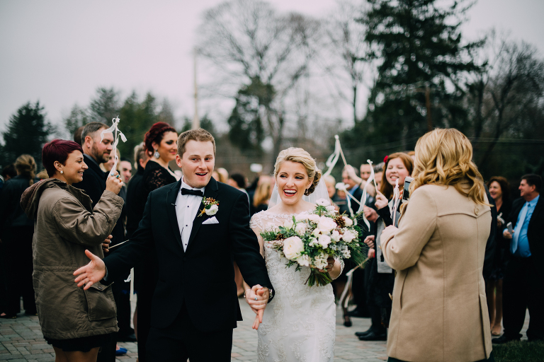 Knowlton Mansion Vintage Winter Holiday Wedding