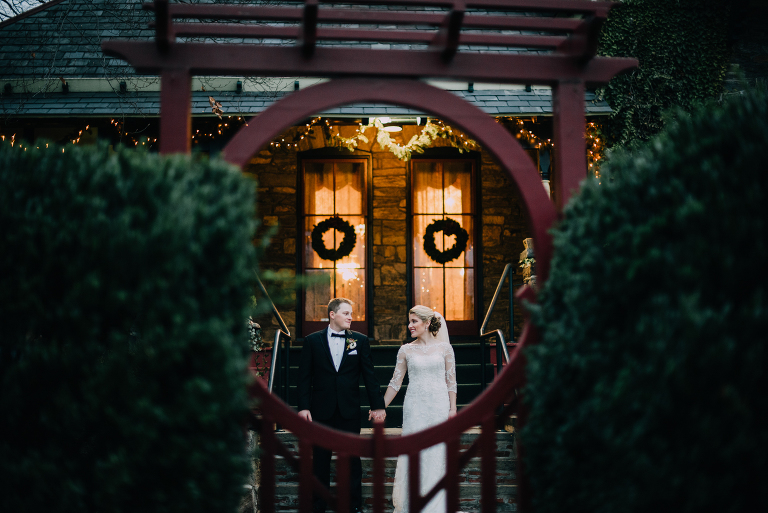 knowlton mansion winter wedding